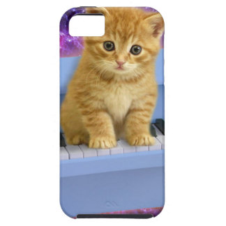 Piano cat case for the iPhone 5