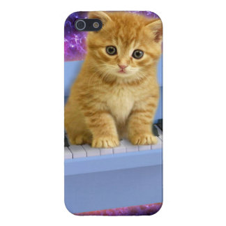 Piano cat cover for iPhone 5/5S