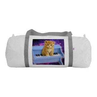 Piano cat gym bag