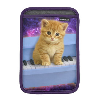 Piano cat iPad mini sleeve