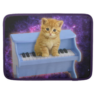 Piano cat sleeve for MacBook pro