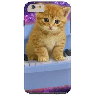 Piano cat tough iPhone 6 plus case