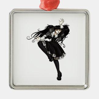 Piano Dance Metal Ornament