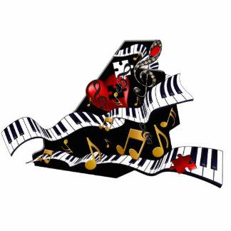 Piano Design Photo Sculpture Music Decor Juleez