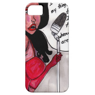 Piano Girl ll iPhone 5 Cover