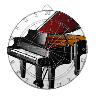 piano gloss black dart boards