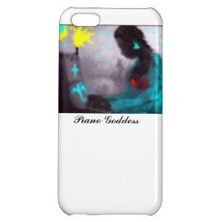 Piano Goddess iPhone 5C Covers
