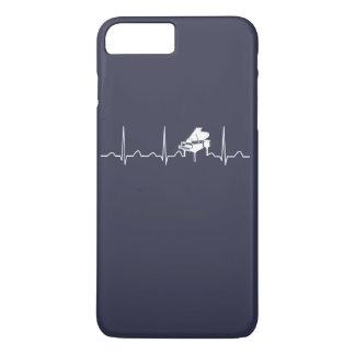 PIANO HEARTBEAT iPhone 7 PLUS CASE