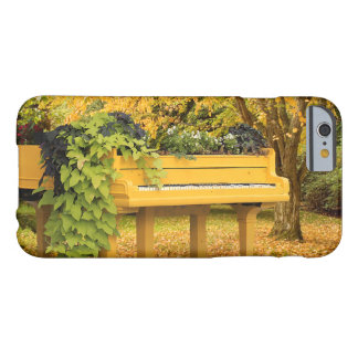 Piano in autumn woods barely there iPhone 6 case