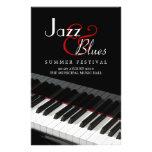 Piano Jazz Blues Music Concert flyer
