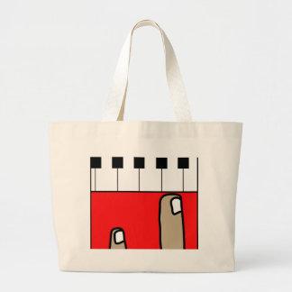 Piano Jumbo Tote Bag