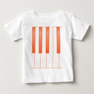 Piano Key Background Baby T-Shirt