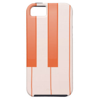 Piano Key Background Case For The iPhone 5