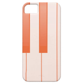 Piano Key Background iPhone 5 Cover