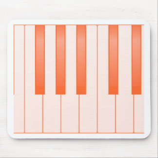 Piano Key Background Mouse Pad
