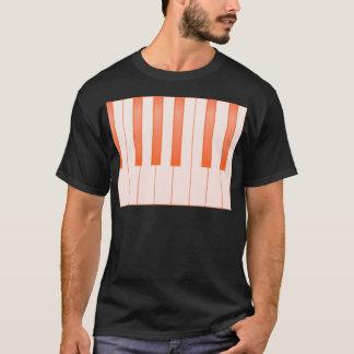 Piano Key Background T-Shirt