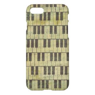 Piano Key Music iPhone 7 Case