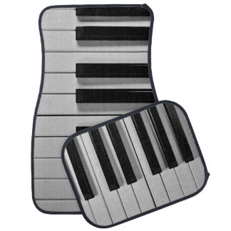 Piano Keyboard Custom Floor Mats Car Mat
