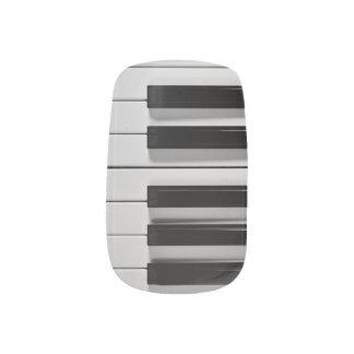 Piano Keyboard Custom Minx Nail Sticker