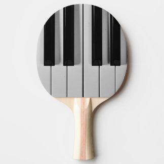 Piano Keyboard Custom Ping Pong Paddle