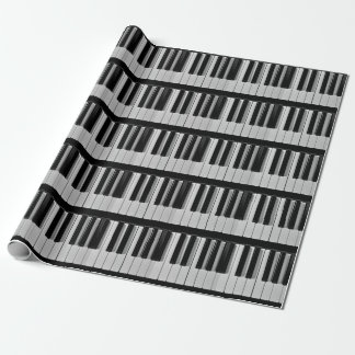 Piano Keyboard Custom Wrapping Paper