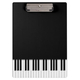 Piano Keyboard Keys Clipboard