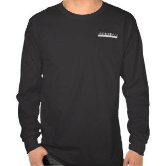 Piano Keyboard Long Sleeve T-shirt