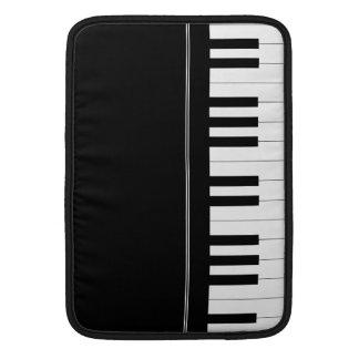 Piano keyboard MacBook air sleeves