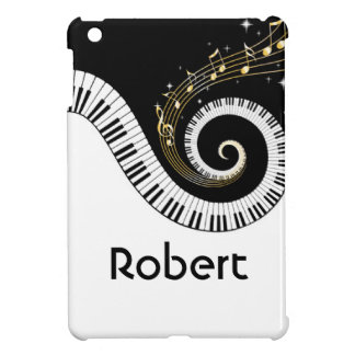 Piano Keyboard Musical Notes iPad Mini Case