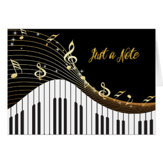 Piano Keyboard Musical Notes  JUST A NOTE
