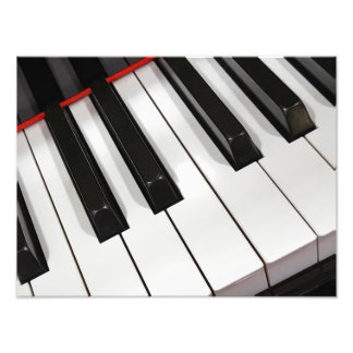 Piano Keyboard Photo Print