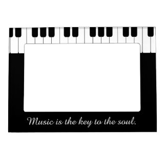 Piano Keyboard Picture Frame - Customizable