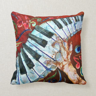 Piano Keyboard Pillow