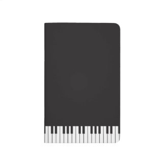 Piano Keyboard Pocket Journal