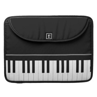 Piano keyboard sleeves for MacBook pro