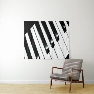 Piano Keyboard Tapestry