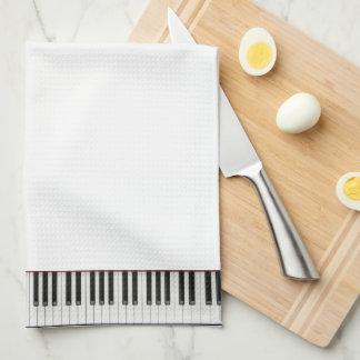 piano keyboard towel