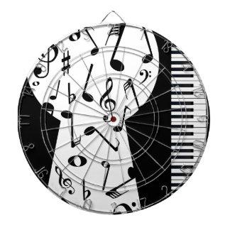 Piano Keyhole Dartboard