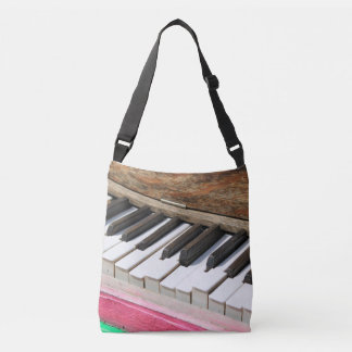 Piano Keys 2 Crossbody Bag