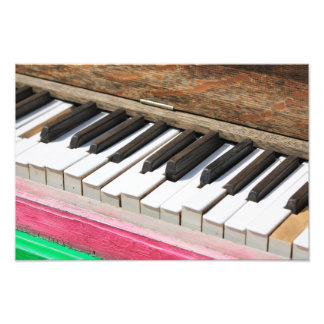Piano Keys 2 Photographic Print