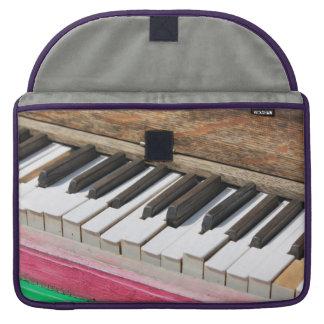 Piano Keys 2 Sleeves For MacBook Pro