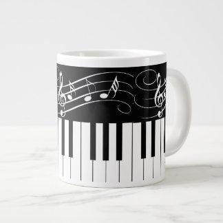 Piano Keys and Music Notes - Coffee Mug