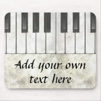 Piano Keys and Parchment Mousepad