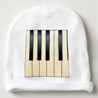 Piano Keys Baby Beanie
