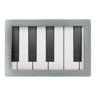 Piano Keys Belt Buckle