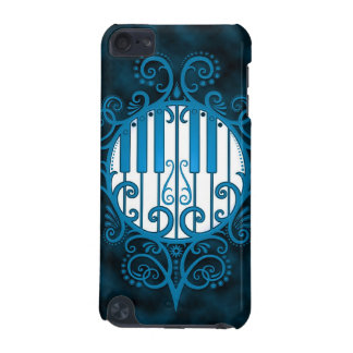 Piano Keys - blue iPod Touch 5G Cases