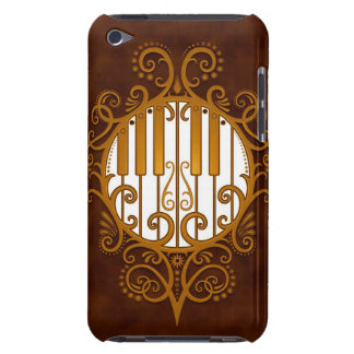 Piano Keys - brown Barely There iPod Cover