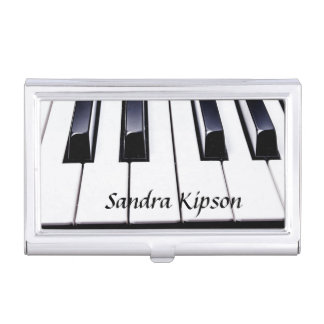 Piano Keys Business Card Holder