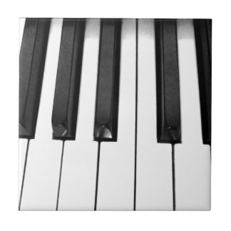 Piano keys ceramic tile