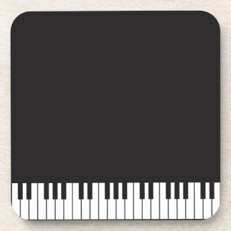 Piano Keys Coaster Set
